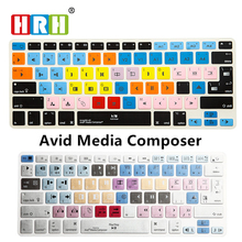 For A1278 Avid Media Composer Shortcut Keyboard Screen Skin Cover iPhone iMac ,Macbook Pro Air 13 15 KC_A1278