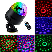 4 LED Disco Light USB Party Lights Disco Ball 5V Strobe Sound Activated Dance DJ Stage Lamp For Car Home Kids Parties Bar Club 4pcs stage light led disco light 10w dj laser projector mercury lamps festival bar club party disco strobe lights party lights