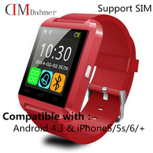 2016 New Original U8s Smart Bluetooth 4 0 Wrist Watch Fashion font b Smartwatch b font