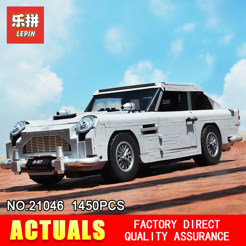 2018 New Lepin 21046 Creator Series Expert Aston Martin DB5 Compatible With 10262 Bricks Model Building Blocks Educational Toys цена