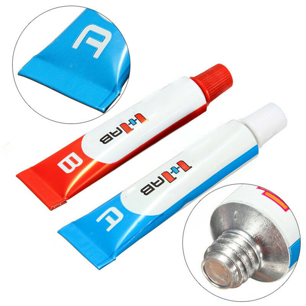 New 10g Multi-purpose Strong Adhesive A B AB Glue A+ B Epoxy Resin Glue For Plastic Metal Ceramic Rubber