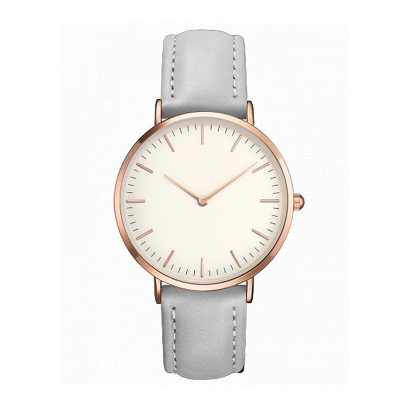 2017 Fashion Luxury Women Men Casual Simple Quartz Analog Watch Band Wrist Watches blue shope 30%