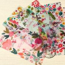 2017 Новый Материал PP Делителей для Dokibook Ноутбук Конфеты Цветок Индекс Бумажный Сердечник для Повестки Дня Организатор Планировщик ноутбук A5 и A6