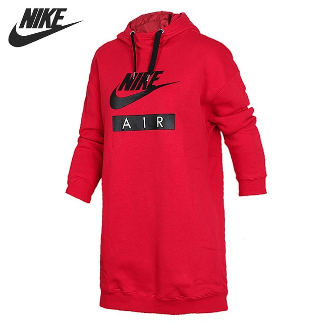 Original New Arrival 2018 NIKE NSW HOODIE DRESS AIR Women s Pullover  Hoodies Sportswear 0406e59eda62