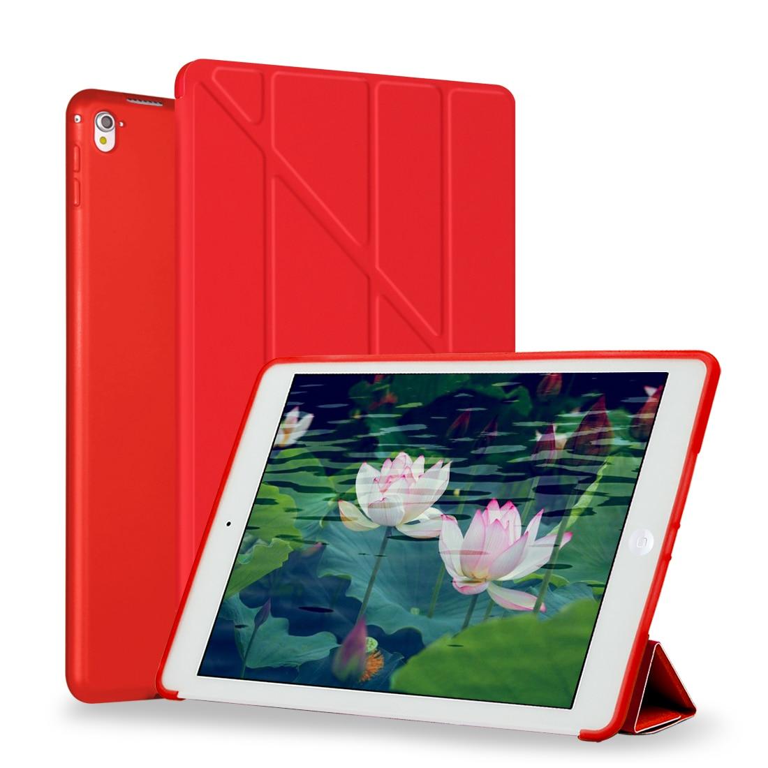 Case For Ipad Mini 4 / Mini 3 2 1 Case PU Leather Transformers Smart Cover For Ipad Mini 4 With Silicone Soft Back Auto Wake Up