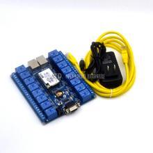 16 canal de contrôle de Réseau relais commutateurs P2P WIFI module 16 relais télécommande mobile contrôle