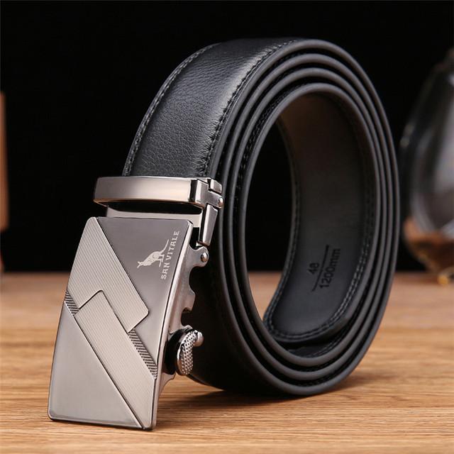 2017 luxury brand belt men's Fashion leather belts for male waistband luxury brand designer belts men high quality free shipping