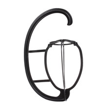 portable Hanging Wig Stand Plastic DIY Hats Hanger Por Detachable Display Dryer Holder Tool For Long & Short Wigs Cap(China)
