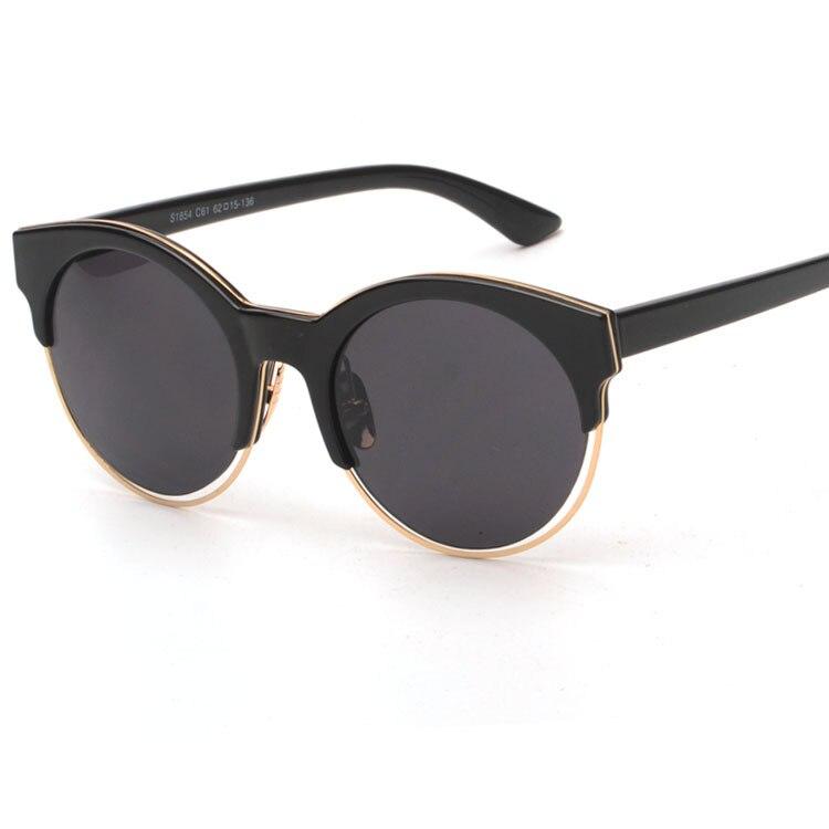 944961d58179b Rodada Chifre Aro SIDERAL 1 J63Y1 Grife Mulheres óculos de Sol Óculos de  Revestimento Oculos de sol Moda Feminina Estilo Europeu