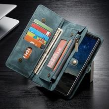 Fundas Voor Samsung S20 Ultra S10 S9 S8 S10e S7 Note 10 Plus 9 8 Lederen Portemonnee Case Voor Iphone 11pro 11 Pro Xs Max X Xr 7 Cover