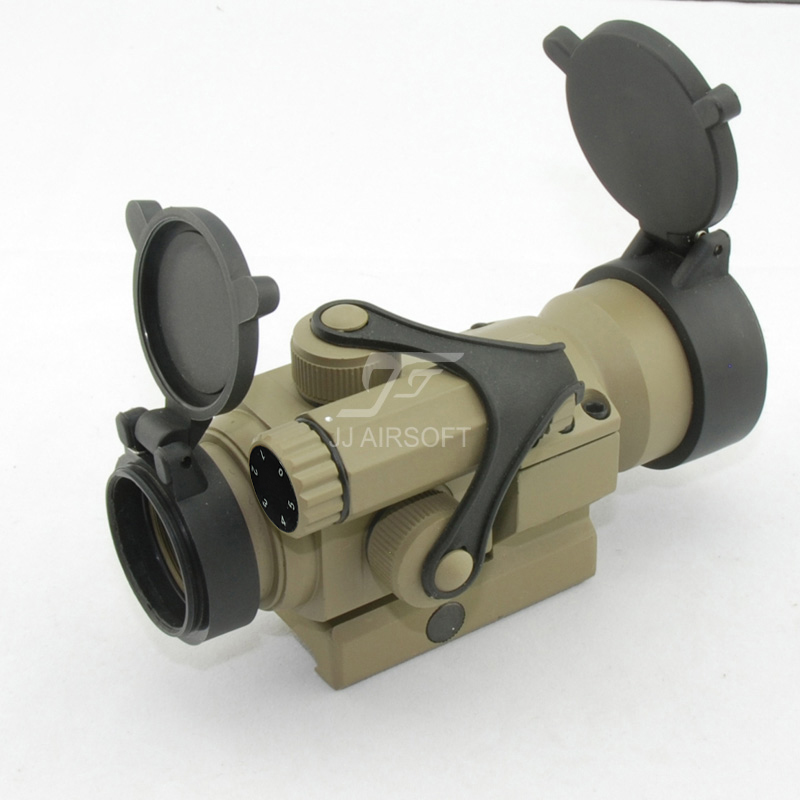 JJ AIRSOFT M2 Red Dot (Tan)FREE SHIPPING(ePacket/HongKong Post Air Mail) element sf m600c scout light led weaponlight black free shipping epacket hongkong post air mail