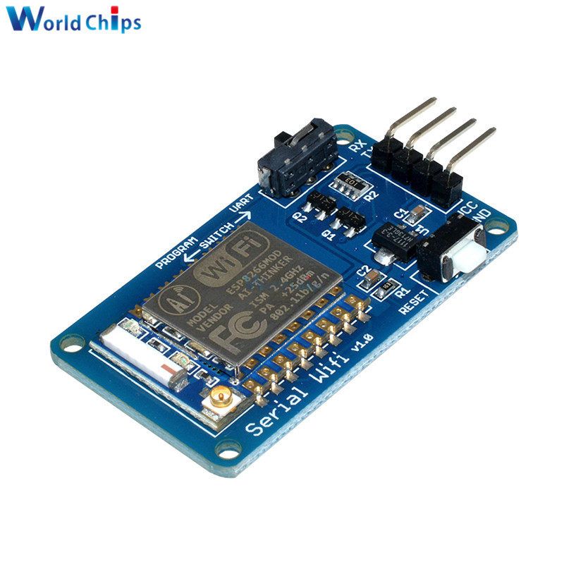 ESP8266 ESP-07 ESP07 Wifi серийный трансивер беспроводной модуль платы 3,3 V 5V 8N1 TTL UART контроллер порта для Arduino UNO R3 One