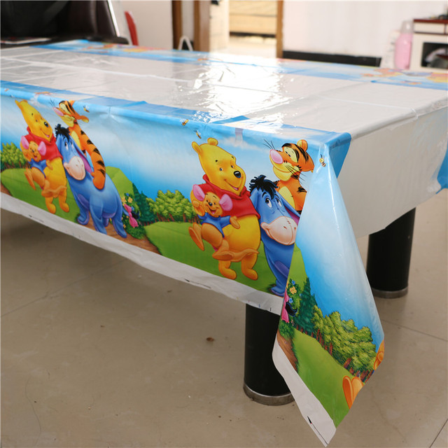 Winnie Pooh Style Table Cover