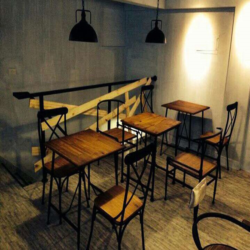 Top,The Village Of Retro Furniture,Vintage Metal Dining Chair,anti Rust  Treatment,wood Dining Furniture Sets,black Metal Chair In Restaurant Chairs  From ...