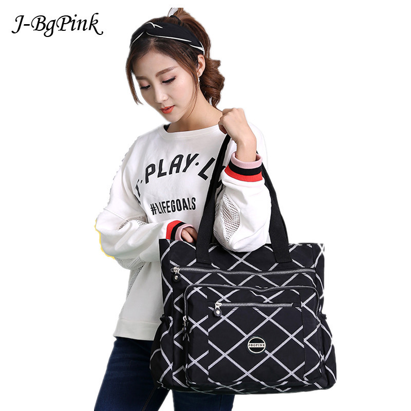 Oversized Bag 2019 European American Style Women Bag Large Capacity Women Shoulder Waterproof Nylon Bag Bolsos Mujer Bolsos