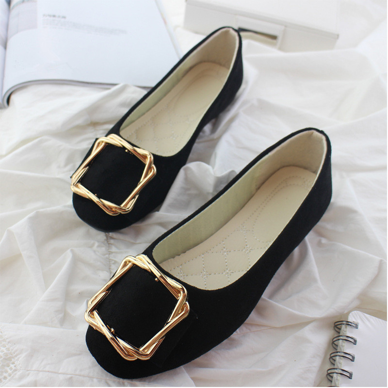 Big Size Women Flats Shallow Candy Color Shoes Woman Loafers Autumn Fashion Sweet Flat Casual Shoes Women Plus Size 35-42 18