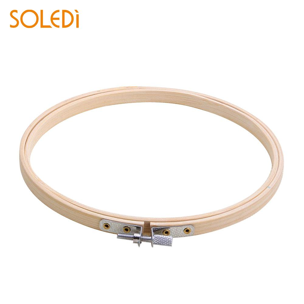 30CM Profession Circle Tent Ring Teaching Embroidery Hoop Practical Round Frame Useful Gift Dorpshipping
