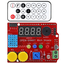 Rich Shield   IR Remote with Infrared Receiver LED Buzzer Button
