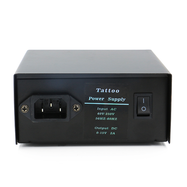 Hot Sale Tattoo Digital Lcd Power Supply With Pointer Fuente De Alimentacion Promotion Direct Selling Tattoo Kit Free Shipping