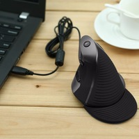 High Quality Human Engineering USB Delux Wired M618 Laser Ergonomic Vertical Mouse For PC Computer Laptop