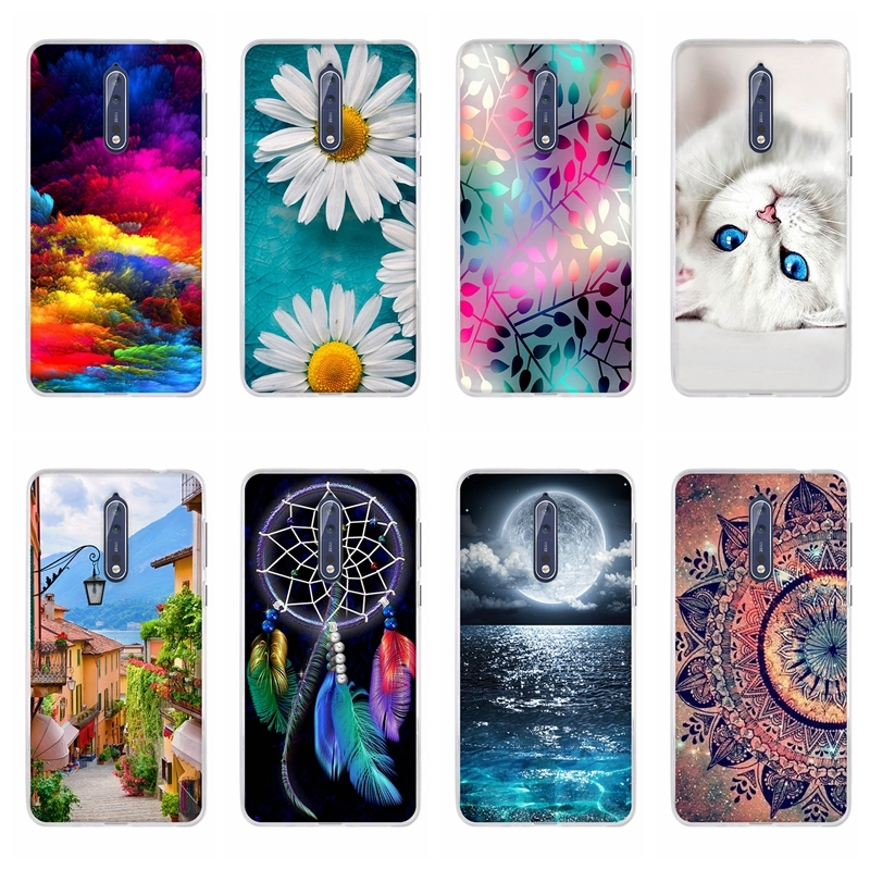 Case For <font><b>Nokia</b></font> 8 Case Silicon Soft TPU Back Cover For Nokia8 Cover For 8 <font><b>Nokia</b></font> <font><b>TA</b></font>-<font><b>1004</b></font> Phone Cases For <font><b>Nokia</b></font> Mobile 8 Coque Capa image