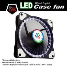 Alseye 120 мм LED кулер вентилятор для корпуса компьютера/Процессор вентилятор dc 12 В D4-3pin 1100 об./мин. 3 цвета доступны бесшумный вентилятор охлаждения