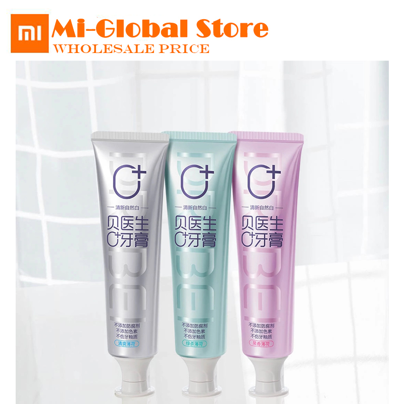 new arrival xiaomi Doctor B toothpastes Zero add no pigment no preservatives 3pcs/lot three mild flavor healthy for famliy тени для век vivienne sabo ombre a paupieres resistante solo petits jeux 118 цвет 118 variant hex name 1d1713