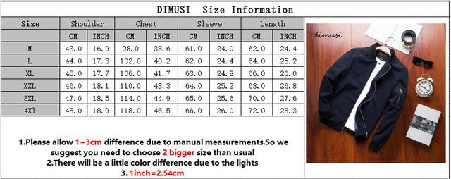 DIMUSI Spring New Men's Bomber Zipper Jacket Male Casual Streetwear Hip Hop Slim Fit Pilot Coat Men Clothing Plus Size 4XL,TA214 4