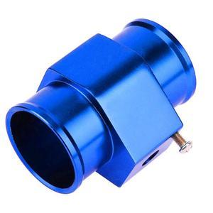 Image 5 - Jauge de température deau bleue jauge de capteur de température tuyau de Joint adaptateur de tuyau de radiateur jauges dautomobiles jauges déchappement accessoires de voiture