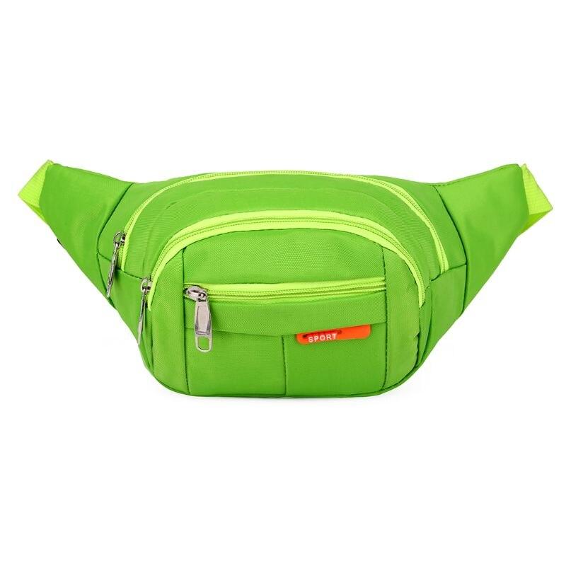 2018 Fanny Pack For Women Men Waist Bag Colorful Unisex Waistbag Belt Bag Zipper Pouch Packs Sports Outdoor Waterproof Bum Bag