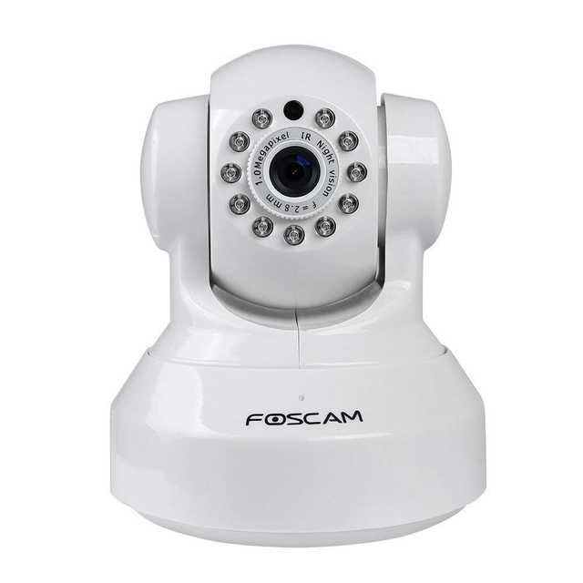 US $71 99 20% OFF|Foscam FI9816P Plug and Play 720P HD H 264 Wireless IP  Camera with Pan and Tilt Motion Detection 8m Night Vision-in Surveillance