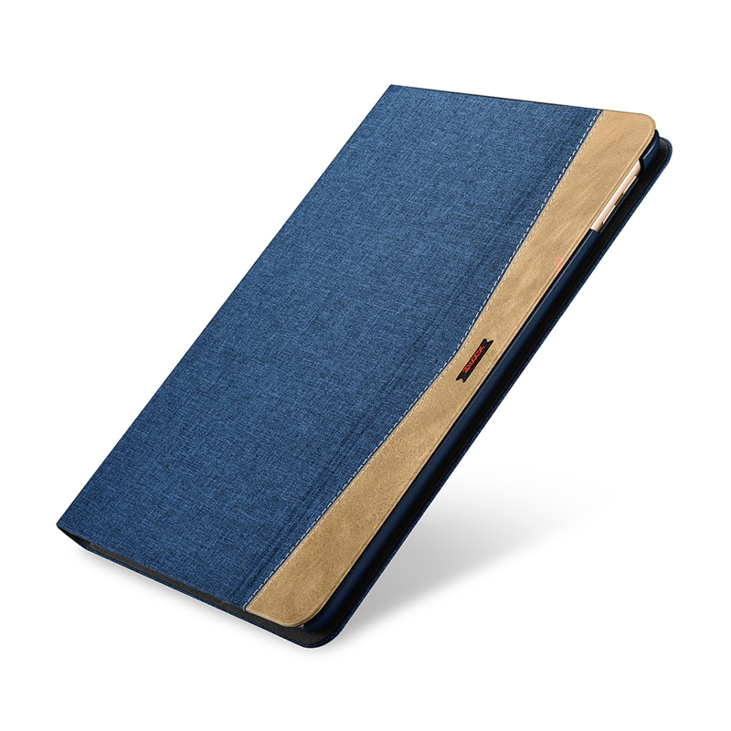 Durable Fabric Leather Case For New iPad 9.7 inch 2017 Fashion Ultra Thin Flip Wake Sleep Smart Case Cover For New iPad 2018 9.7 10pc lot dhl free new arrival official original fashion smart case for apple ipad air ipad5 ultra thin filp cover case