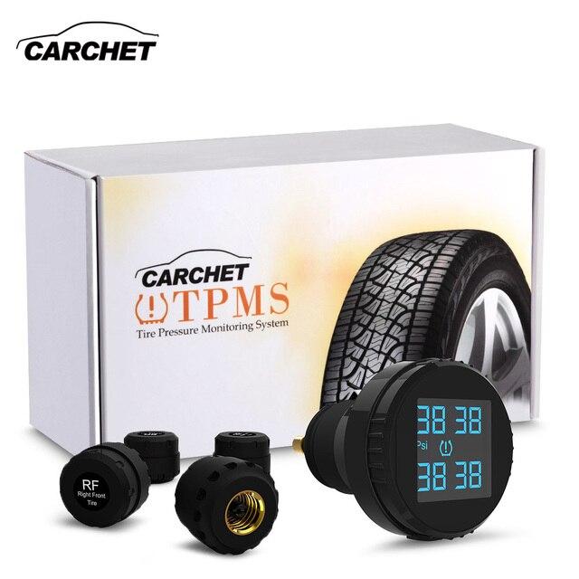 Carchet Auto Tpms Bandenspanningscontrolesysteem 4 Externe