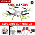 Real Time SYMA X5HC X5HW RC Drone 4-CH 2.4G 6-Axis Helicopter With WIFI FPV HD Camera Hovering Headless Quadcopter Toys