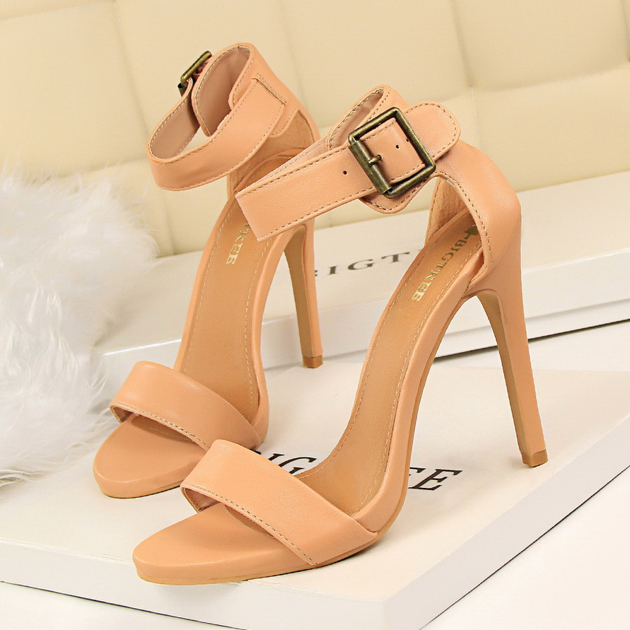BIGTREE Shoes <font><b>Women</b></font> <font><b>High</b></font> <font><b>Heels</b></font> New <font><b>Women</b></font> <font><b>Pumps</b></font> <font><b>Sexy</b></font> Ladies Shoes <font><b>Women</b></font> <font><b>Sandals</b></font> Fashion Fine with <font><b>Women</b></font> Wedding Shoes image