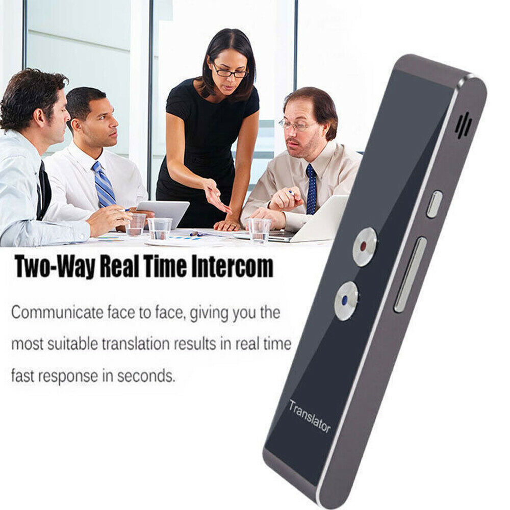 Smart Instant Voice Translator 40 Languages T8 Real Time Multi Languages Speech Interactive Translation Tool Bluetooth