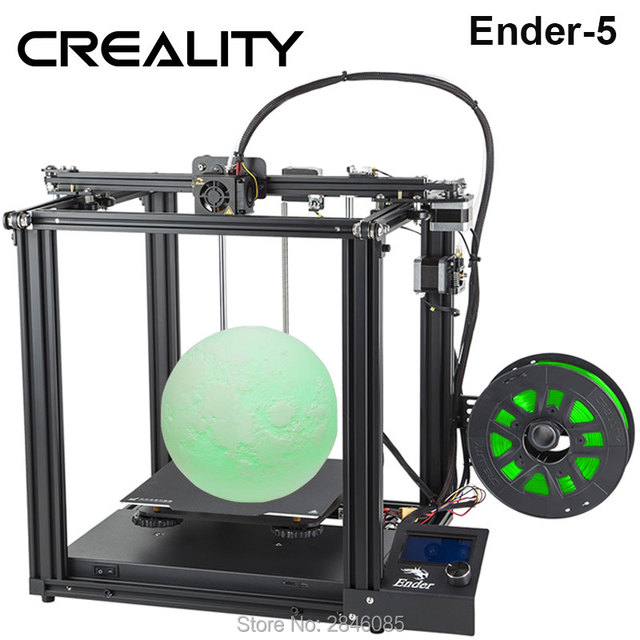 CREALITY 3D Printer Creality Ender-5 with Landy stable Power,magnetic build plate, power off resume