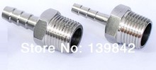 Free shipping 1 set of  Brass Male Hose Barb - 1/2