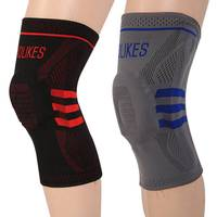AOLIKES Cycling Volleyball Basketball Knee Sliders Damping Kneepads Knee Pads Supporting Brace Wrap Protector