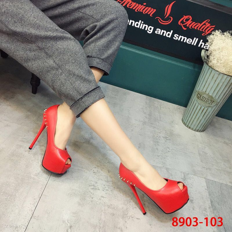 ФОТО Ultra high heels single shoes platform elevator platform thin heels shoes fashion formal shoes 14cm