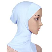 LNRRABC Cobertura Completa Interior Mulheres Desgaste Da Cabeça Chapéu  Underscarf Algodão Muçulmano Hijab Islâmico Xales E tampa. 6470135c43c