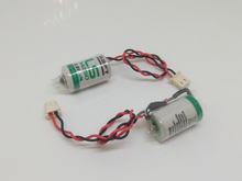20pcs/lot New Original SAFT LS 14250 LS14250 1/2 AA 1/2AA 3.6V 1250mAh PLC Lithium Battery With Plug k7m drt20u ls lg new and original plc
