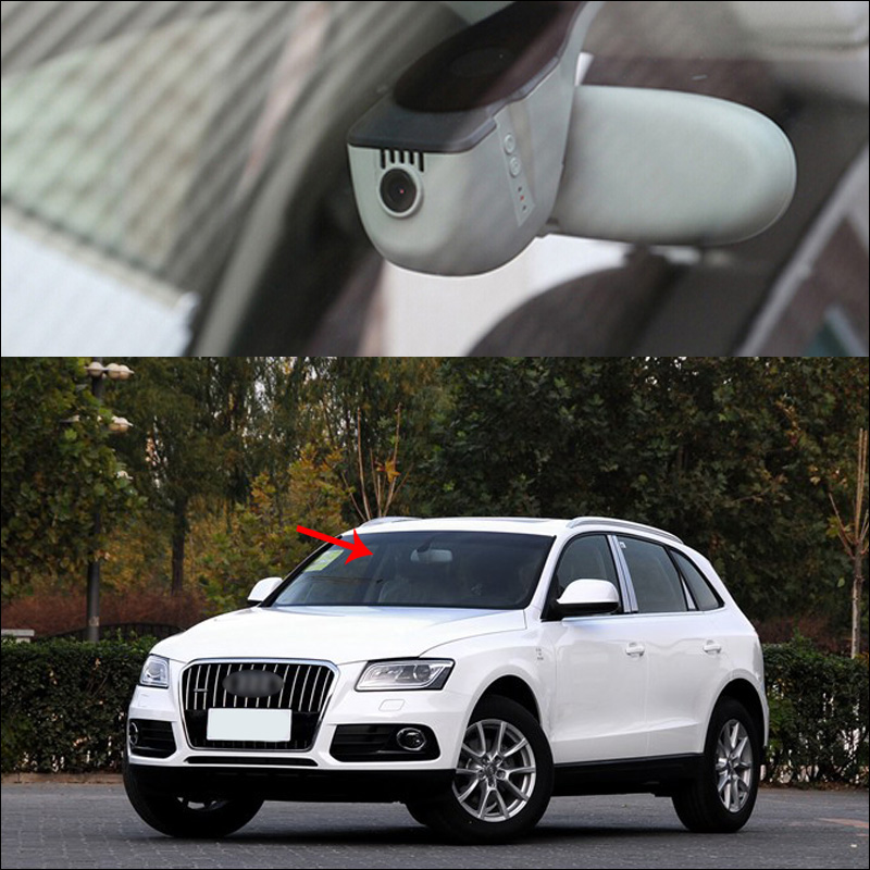 BigBigRoad For Audi Q5 R8 2013 2014 2015 2016 Car Wifi DVR