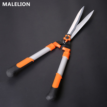 MALELION 2019 Hot Horticultural Green High Altitude Cut Lawn Shear Fence  Hedge Shears Telescopic Handle Gardening Tools