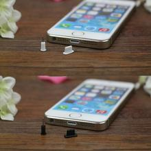 10 Pcs Silicone Anti Dust Cap Earphone Jack Plug Stopper Charging Port For iPhone 5 5S 6 6S Phone Accessories