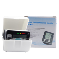 Automatic Digital Wrist Blood Pressure Monitor Digital LCD Meter Cuff Blood Pressure Measurement Health Monitor Sphygmomanometer