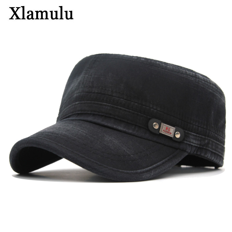 Xlamulu Fashion Brand Men   Baseball     Cap   Women Snapback   Caps   Vintage Hats For Men Flat Casquette Bone Washed Army Dad Male Hats