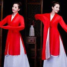 5237baf8c31a Tradizionale folk e etnico abiti da ballo nazionale di danza di Cina fan  yongo antico Cinese folk dance abbigliamento FF1824
