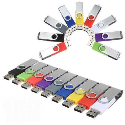 swivel USB Flash Drive memory usb stick U disk pen drive 64GB USB 2.0 USB 8GB 16GB 32GB pendrive Flash Drive Free Ship