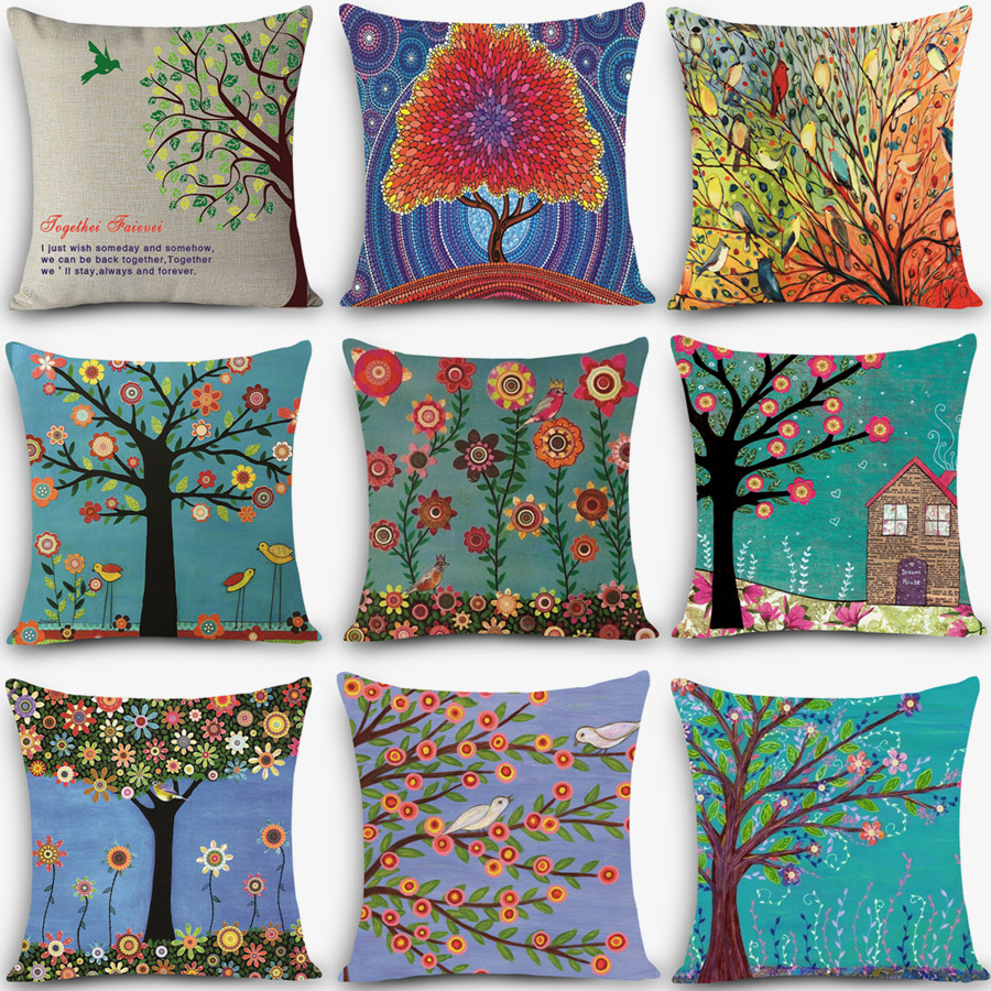 High Quality Cheap Price Decorative Throw Pillow Colorful